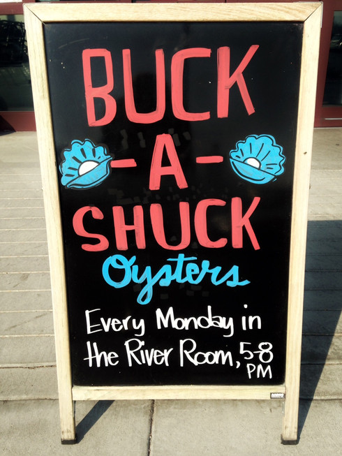 Buck a Shuck Oysters Every Monday at Whole Foods