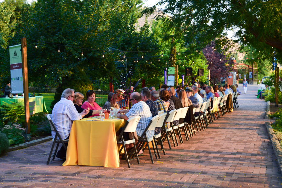 Farm to Table Dinner Catering at Idaho Botanical Garden