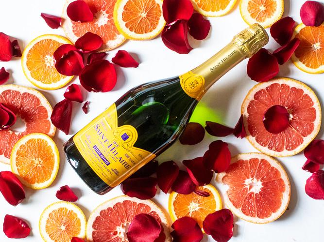 Valentine's Day Champagne