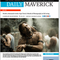 Daily Maverick article