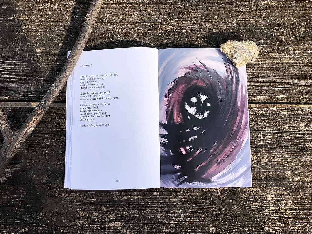 Chaz Allen Art and Poetry The Thirteenth Circle