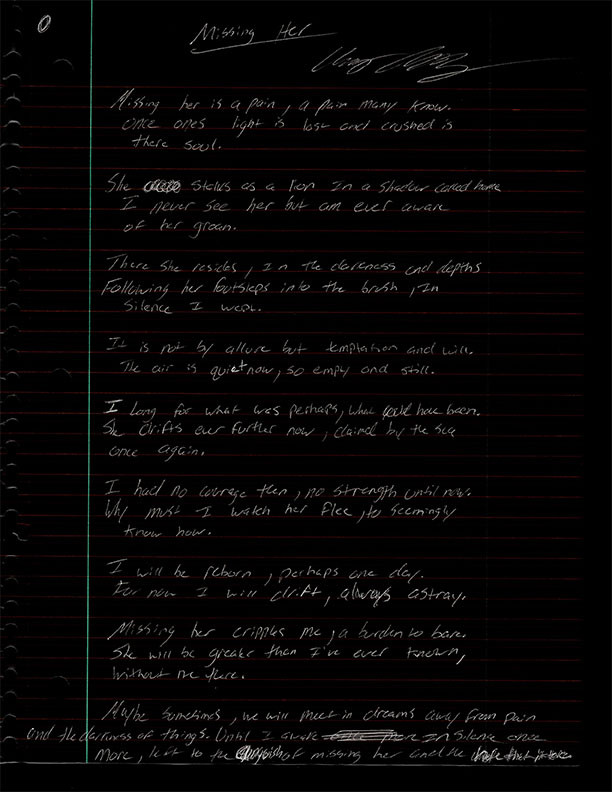 Chaz Allen Art Poetry The Thirteenth Circle Blog