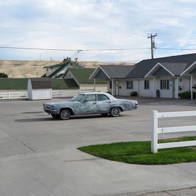 Motel parking