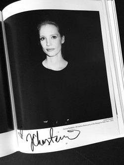 Jessica Chastain autograph