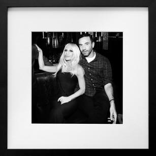 Donatella Versace & Riccardo Tisci