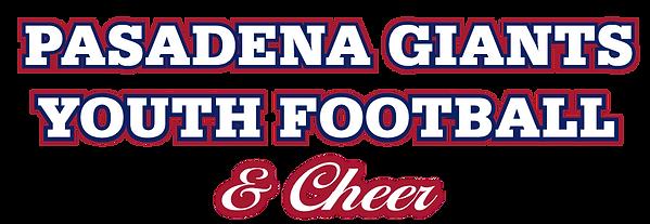 Pasadena Gianst youth football and Cheer