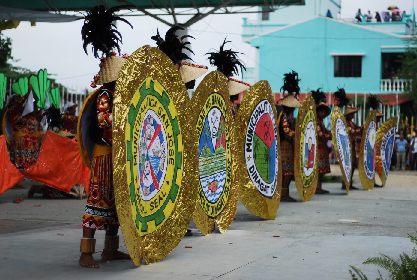 BUGKOSAN sa Isla... Dinagatan Festival D