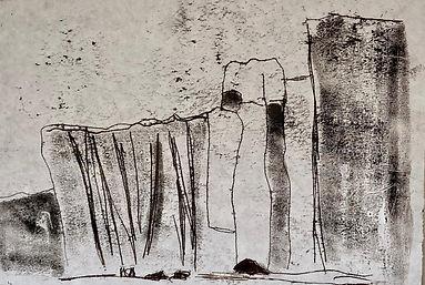 The Maddies 1 - 21cmx15cm - Monoprint.jp