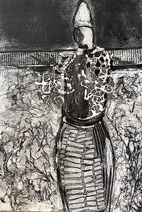 Baleshare Woman 2 - 21cmx15cm - Collagra