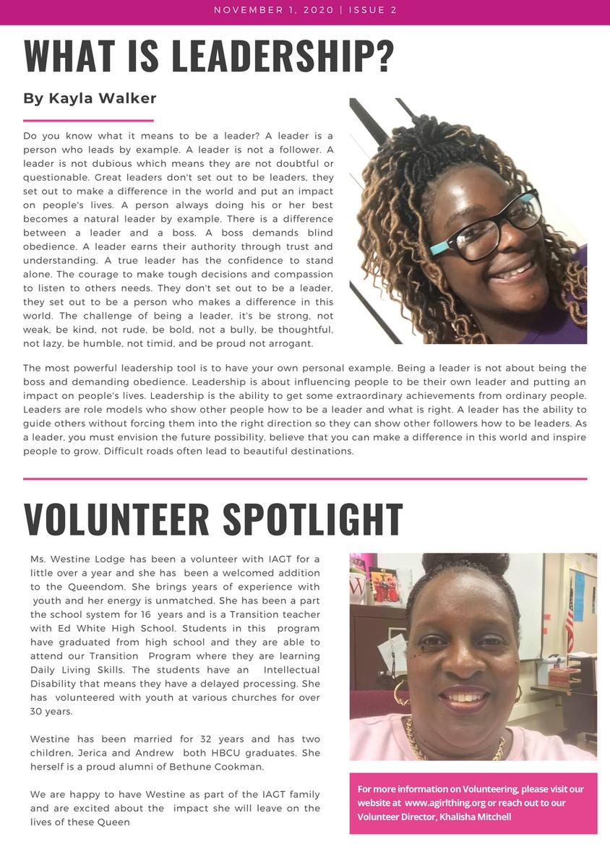 IAGT Newsletter 2nd edition 5.