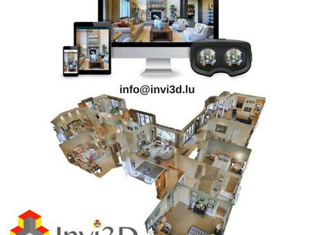 Un service de visite virtuelle pour les agences immobilières à Luxembourg