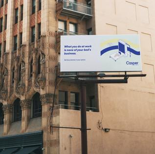 Casper Studio Bed Campaign