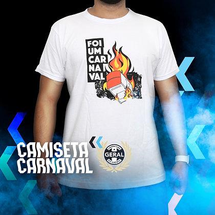 Camiseta Foi um Carnaval