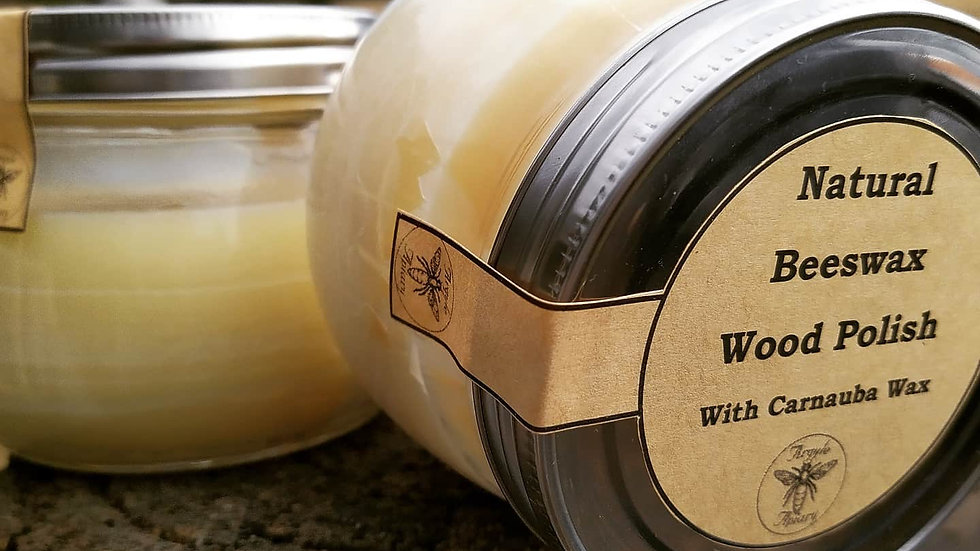 Beeswax Wood Polish w. Carnuba Wax 400g