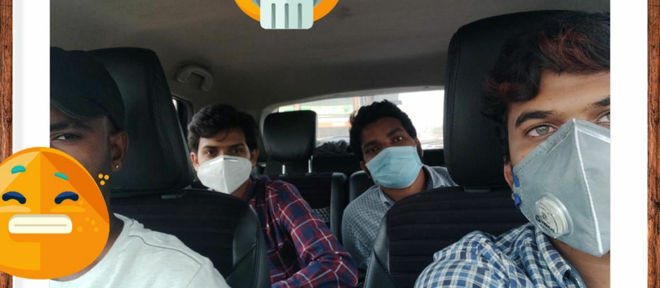 A Road Trip from Chennai to Hyderabad.