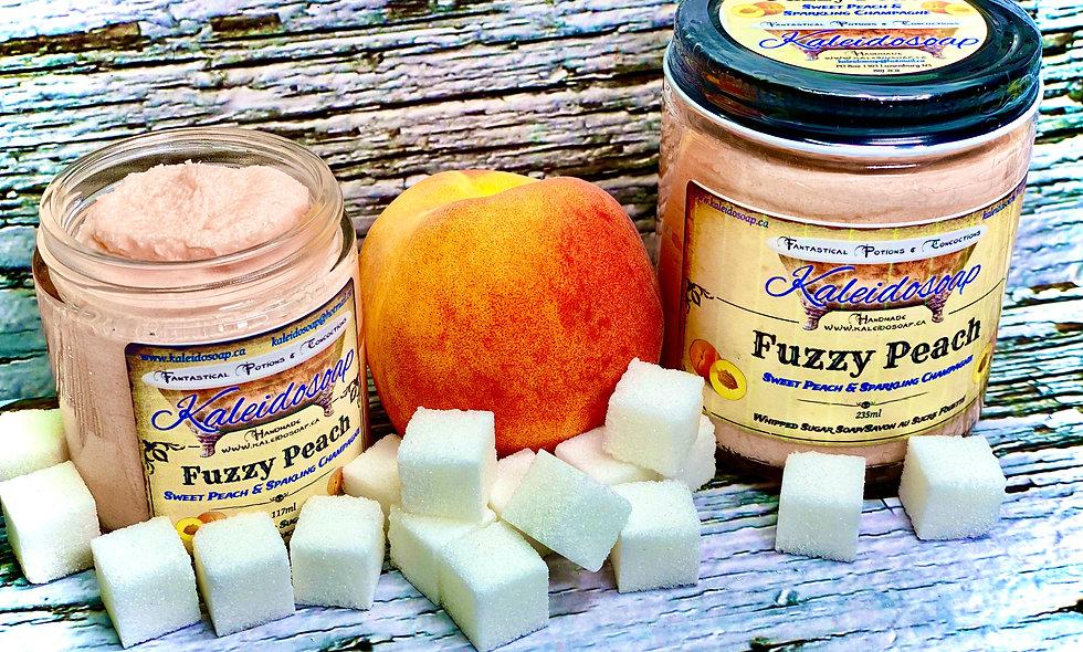 Fuzzy Peach Foaming Sugar Scrub