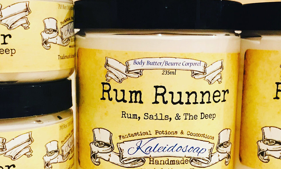 Rum Runner Body Butter