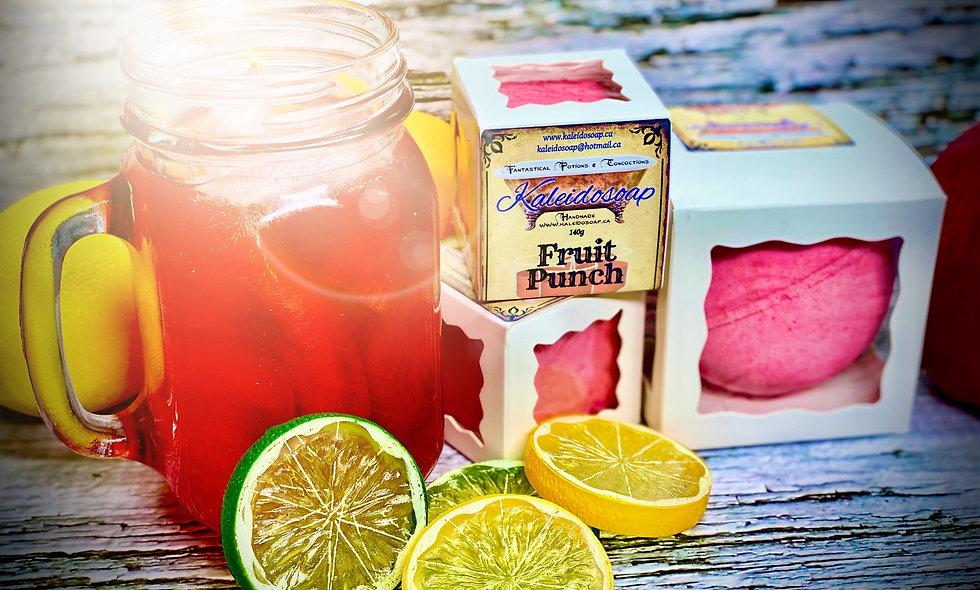 Fruit Punch Bath Bomb
