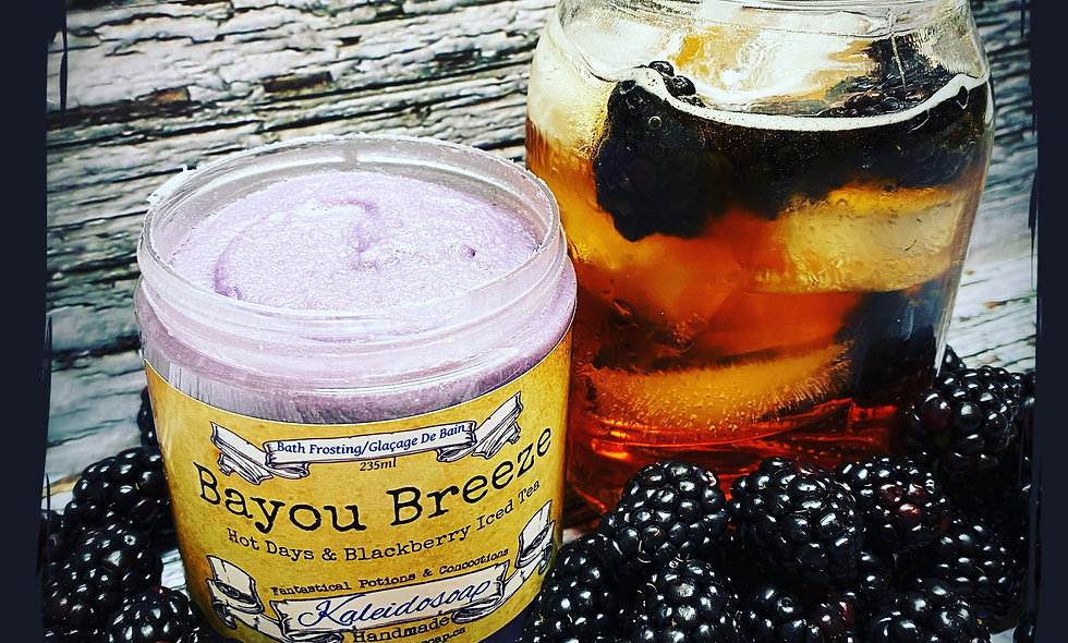 Bayou Breeze Foaming Sugar Scrub