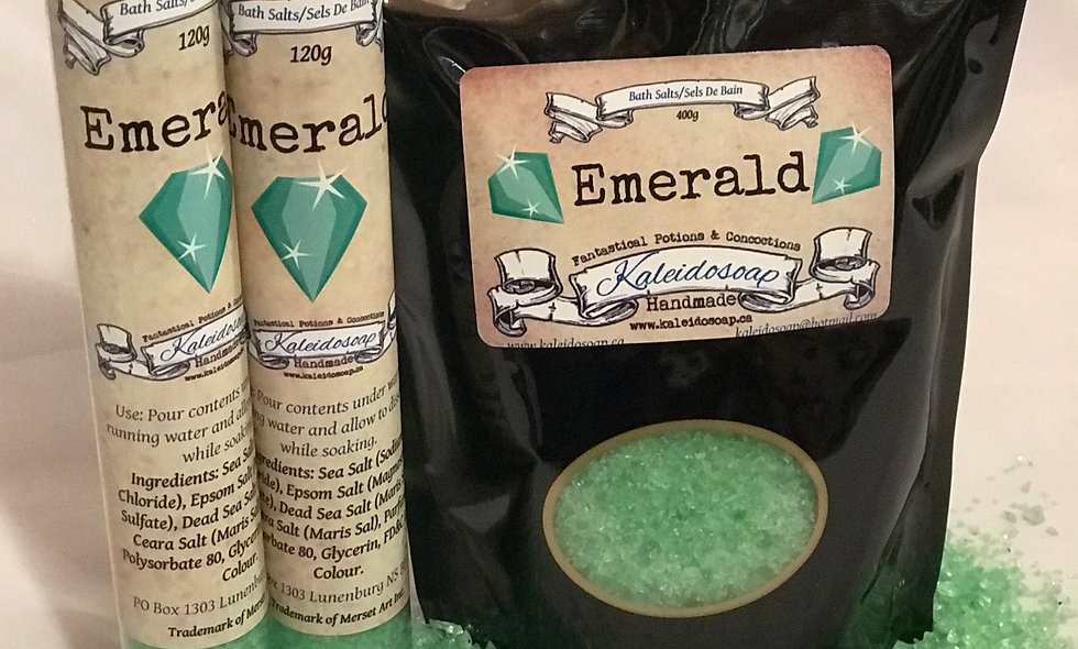 Emerald Bath Salts