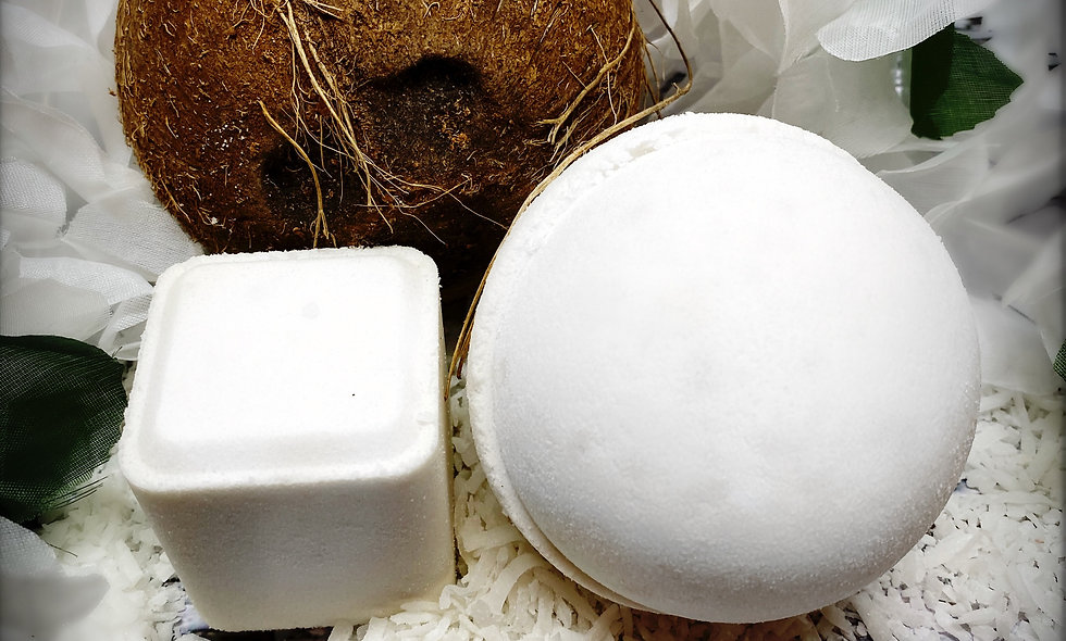 Coconut Cream Bath Bomb