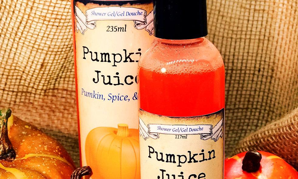Pumpkin Juice Shower Gel