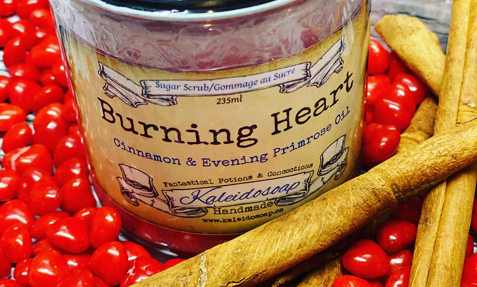 Burning Heart Sugar Scrub