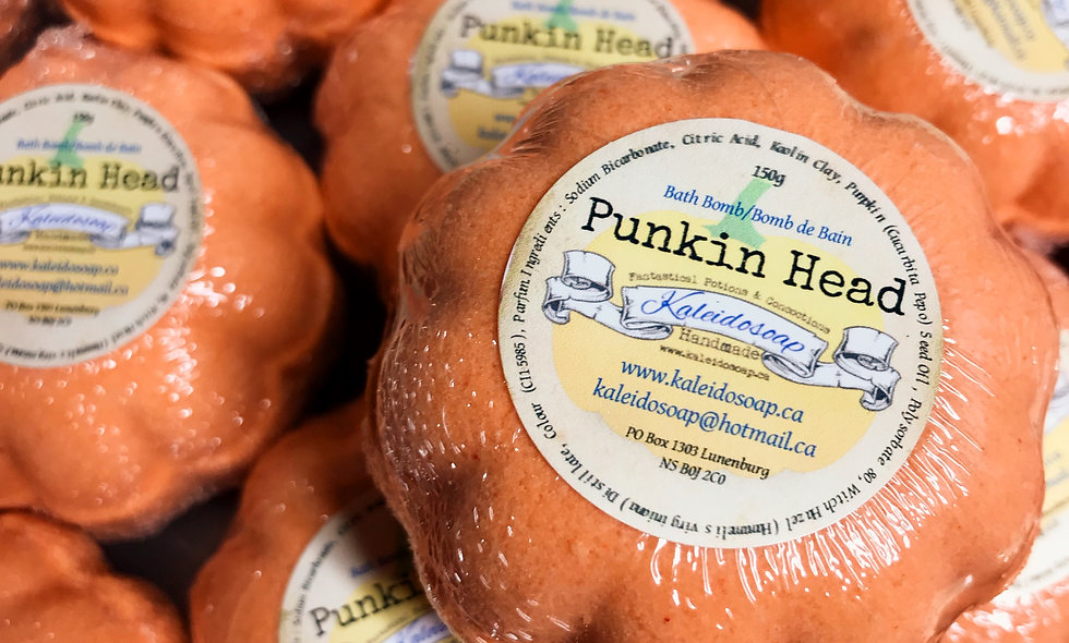 Punkin Head Bath Bomb