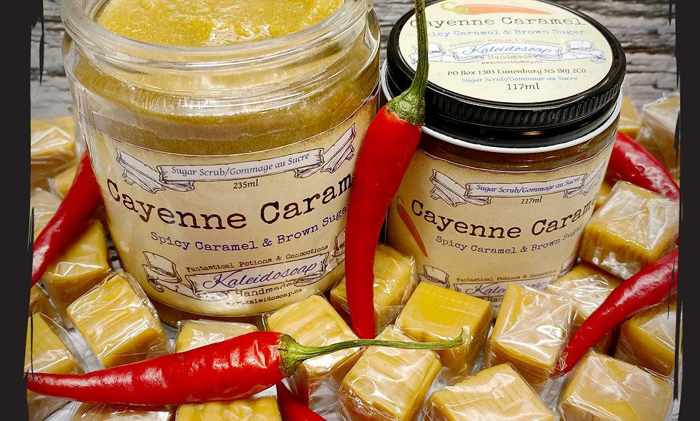 Cayenne Caramel Sugar Scrub