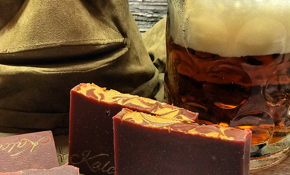 Hold My Butter Beer Soap