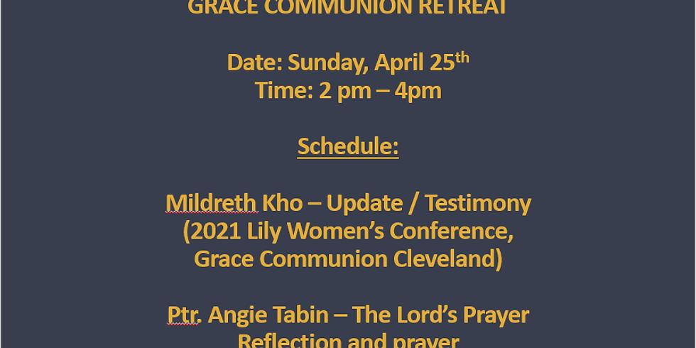 Virtual Church Retreat (Zoom ID: 393 480 6678)