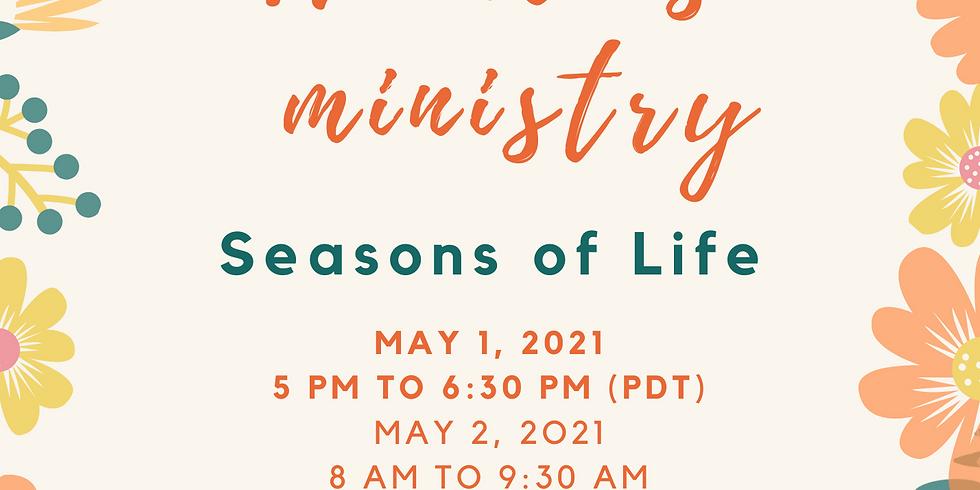 Women's Ministry (Zoom ID: 219-555-2013)