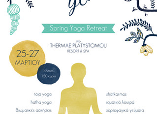 """Letting Go"" Spring Yoga Retreat"