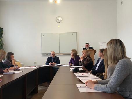 """Відбувся круглий стіл «Організація та проведення практики студентів юридичного факультету"""""""