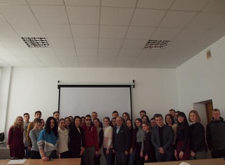 Зустріч студентів з депутаткою Верховної ради України Іриною Констанкевич