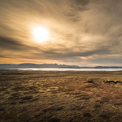 Sunrise over Iceland