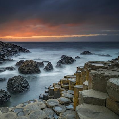 Steps into the sea