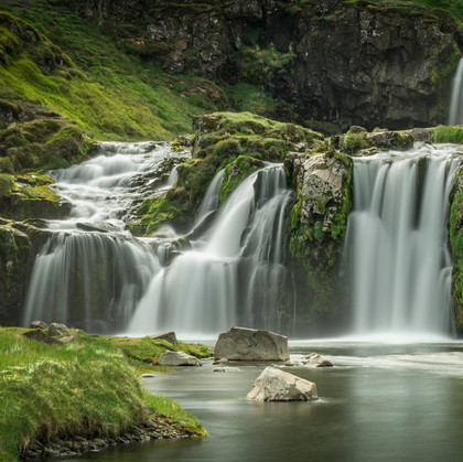Soft flowing waters