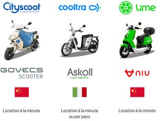 La bataille des scooters électriques est déclarée ! Cityscoot, Lime, Yego, Cooltra, lequel choisir ?