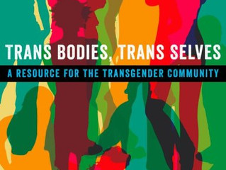 My contribution to Trans Bodies, Trans Selves