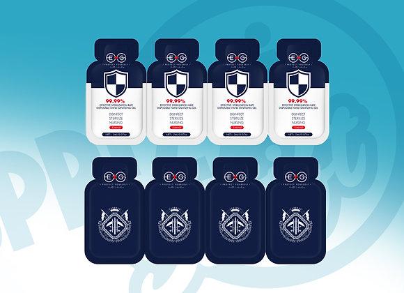 Single Use Sanitizer Pocket Packs (75% Alcohol | 48 Count)