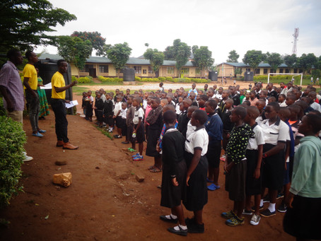 """""""If we cannot mention Road safety we can't improve it"""" Teaching Session at  Kanombe on Road Safety"""