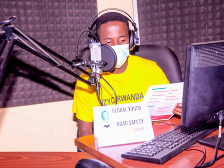 Successful week marked by 2 Local Action Teaching session on Road Safety and one Radio Talk Show.