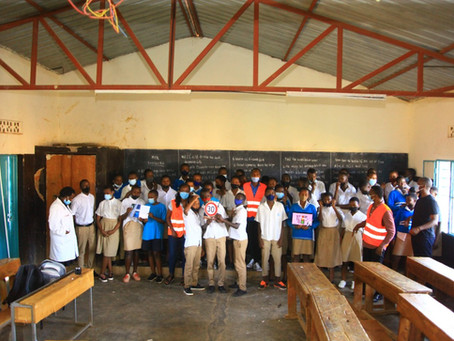 Teaching Session on Road Safety in two Kigali schools that call young people to be the change makers