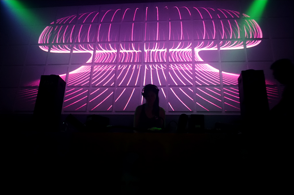 Video Mapping at Monalisa Club
