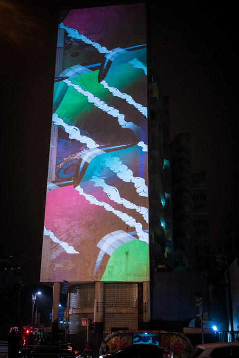 Suicide Squad video mapping