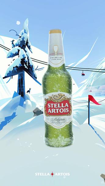 Stella Artois AR mobile app