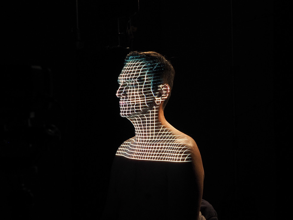 Paulo Miklos realtime face tracking