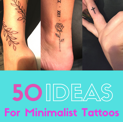 50 ideas for MINIMALIST Tattoos