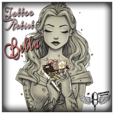 Kelowna Tattoo Artist Bella of Platinum Tattoo Kelowna
